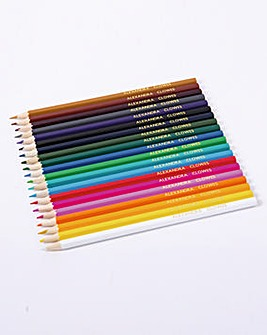 Colouring Pencils Set of 20 Personalised
