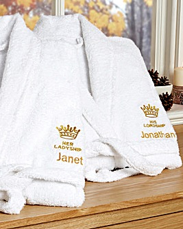 His Lordship Robe Personalised