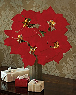 LED Poinsettia Bloom