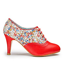 Joe Browns Floral Shoe Boots EEE Fit