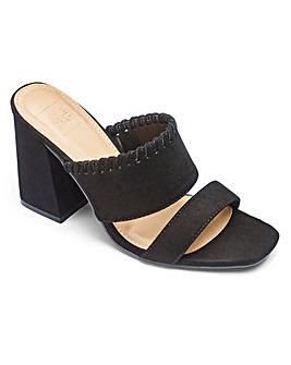 Sole Diva Whipstitch Mule EEE Fit