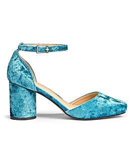 Sole Diva Round Heel Shoes EEE Fit