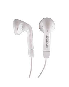 Koss Stereo Earphones KE5w White
