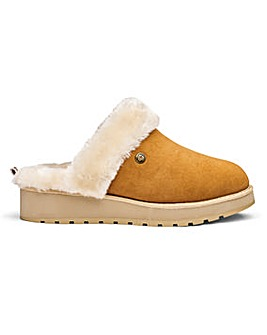 Skechers Real Suede Mule Slippers