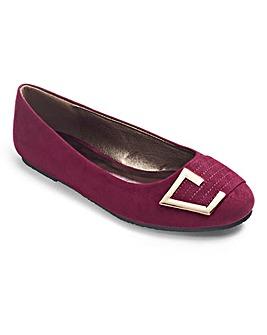Lorraine Kelly Ballerina Shoes D Fit