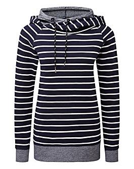 Tog24 Nell Womens Stripe Hoody