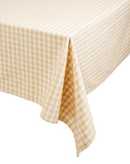 Gingham Check Rectangle Table Cloth