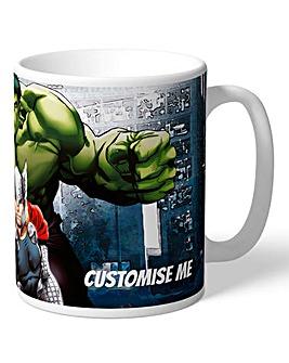 Personalised Marvel Mug