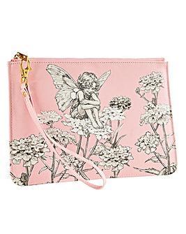 Flower Fairies Wristlet Bag