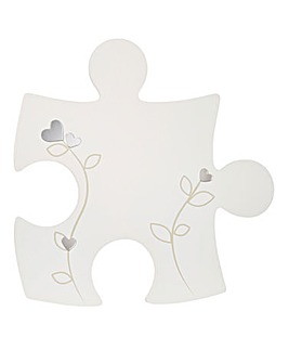 Engrave Jigsaw Piece with design