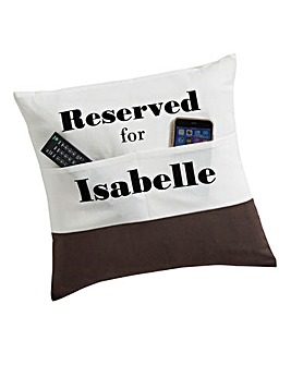 Personalised Pocket Cushion Cover