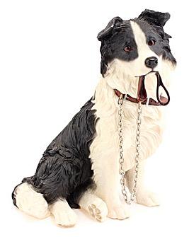 Dog Walkies Figurine
