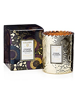 Voluspa Crane Flower Boxed Candle