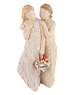 More Than Words - Best Friends Figurine