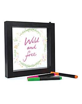 Light Up Neon Writing Frame