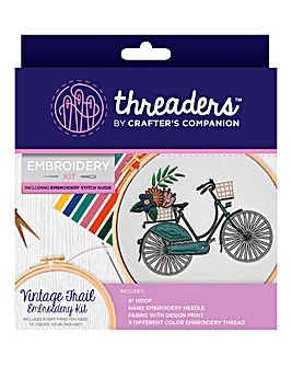 Embroidery Kits - Bicycle