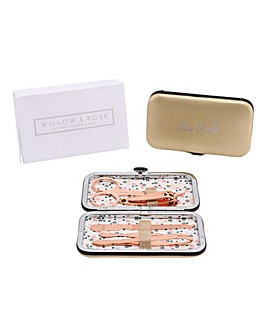 W&R Rose Gold Manicure Kit