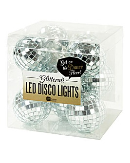 Disco Ball LED String Lights