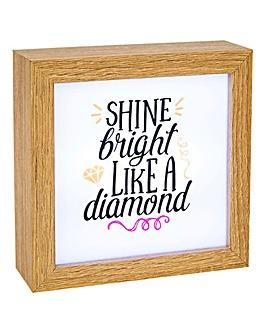 LED Lumiere Box - Diamond