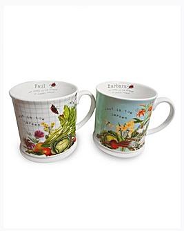 Personalised RHS Garden Mugs