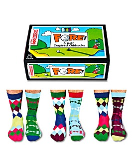 Fore Golf Oddsocks for Men