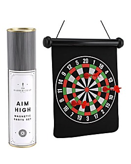 Dapper Chap Magnetic Dartboard Set