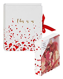 Valentines Love Paperwrap Gift Set