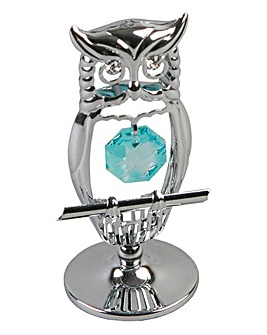 Crystocraft Owl Ornament