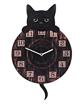 Kitten Tickin Clock