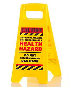 Health Hazard Warning Sign