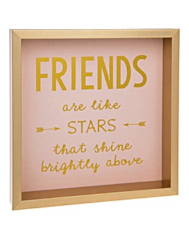 Friends are Like Stars Frame