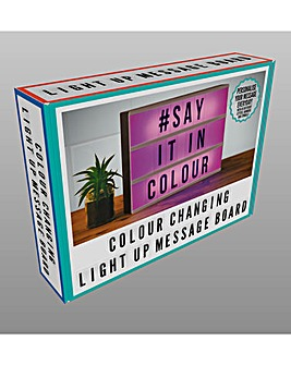 Colour Changing Message Light Box