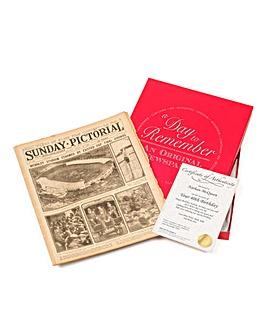Gift Boxed Original Newspaper