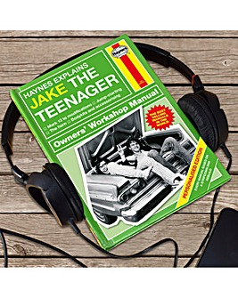 Personalised Haynes Teenager Manual