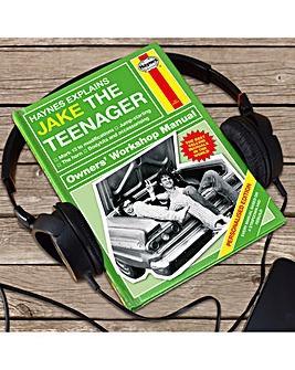 Personalised Haynes Teenager Manual