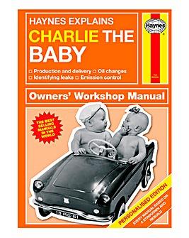 Personalised Haynes Baby Manual