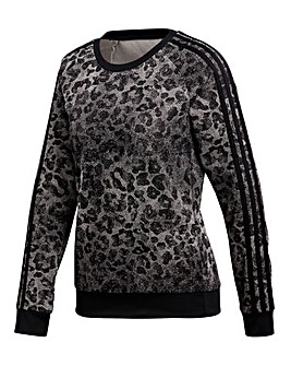 adidas Essential All Over Print Sweat
