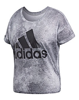 adidas Essential All Over Print Tee