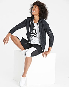Reebok Marble Full Zip Sweatshirt