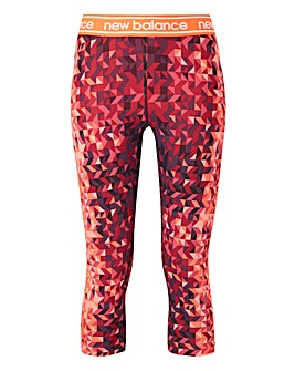 New Balance Printed Accelerate Capri