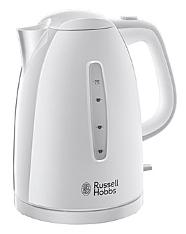Russell Hobbs Textures White Kettle
