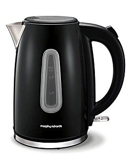 Morphy Richards Equip Black Kettle