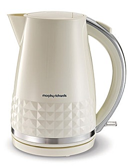 Morphy Richards Dimensions Cream Kettle