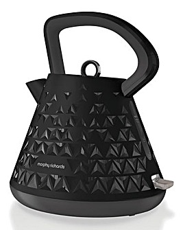 Morphy Richards Prism Black Kettle