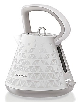 Morphy Richards Prism White Kettle