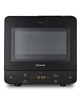 Hotpoint Curve 13Litre Black Microwave