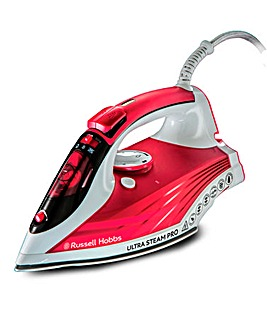 Russell Hobbs 2600W Ultra Steam Red Iron
