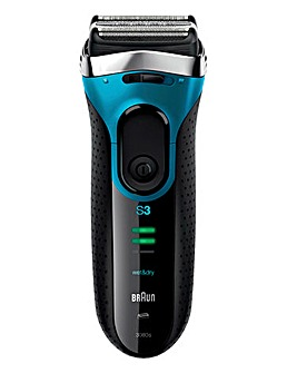 Braun Series 3 Wet and Dry 380s Shaver