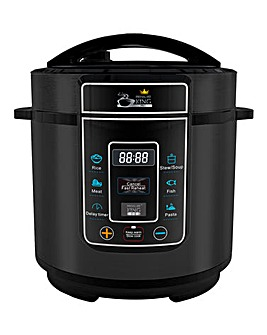 Pressure King Pro 3 Litre Black Cooker