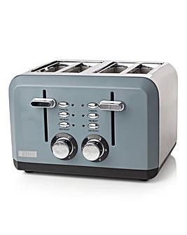 Haden Perth Sleek 4Slice Grey Toaster